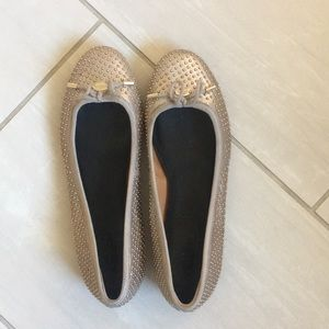 Coach studded flats size 7.5- barely used